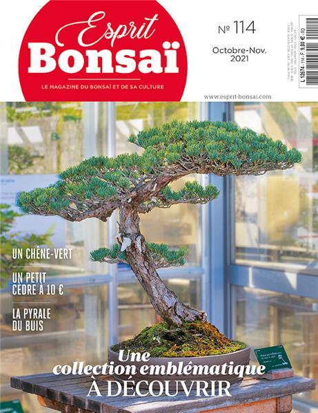 Esprit Bonsaï n°114 Octobre-Novembre 2021