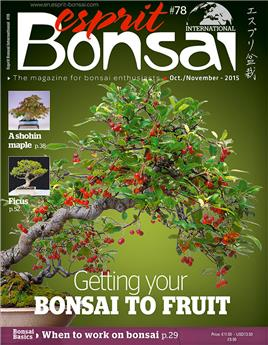 Esprit Bonsai International #78 Oct-Nov 2015