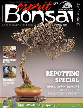 Esprit Bonsai International #87 April-May 2017