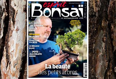 Esprit Bonsaï n°101 Août-Septembre 2019 La beauté des arbres