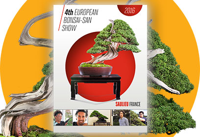 Catalogue officiel de l'exposition European Bonsai-San Show de Saulieu 2015